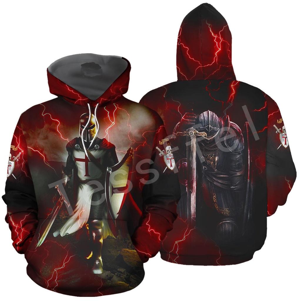 Tessffel Knights Templar Art Tracksuit 3D Full Printed Hoodie/Sweatshirt/Jacket/Men Women HIP HOP Casual Harajuku Style-8
