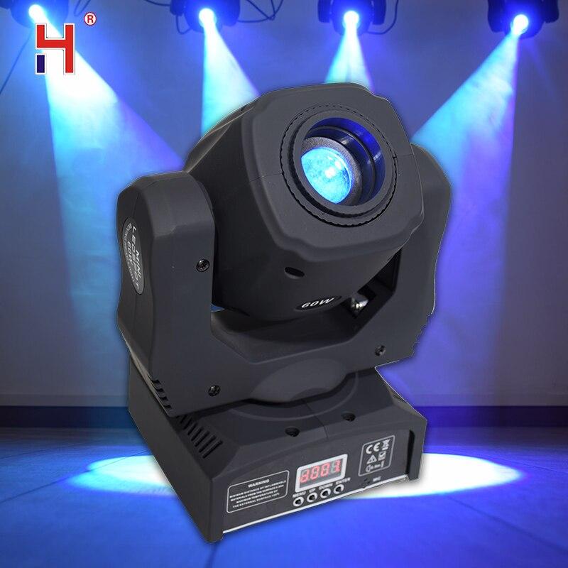 60W Disco Light Led Spot Moving Head Lighting Lyre Led Lights Dmx-512 Contrlo For Show Disco Dj Dmx Stage Lightings