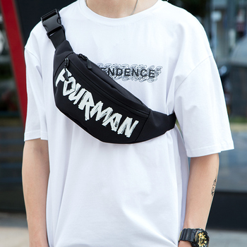 New Waist Bag Fanny Pack Women Belt Bags 2020 New Trend Chest Packs Banana Bags Canvas Material Hip Hop Package Male Bum Bags designer fanny pack women waist bags fashion belt chest pack canvas banana bum bag women waist pack phone pouch 2020 summer new