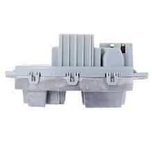 Yetaha 64119146765 nuevo regulador de Resistor de Motor de ventilador para BMW 120I 128I 130I 135I 323I 325CI 325I 328I 330CI 335I X1 X3 X5 X6