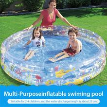 Baby Inflatable Swimming Pool Thick Paddling Pool Summer Water Party Supply For Baby Kids Adult Piscina