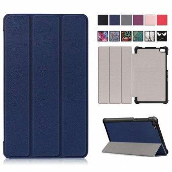 Slim Magnetic Folding cover case For Lenovo Tab E 7 E7 TB-7104F Protective Cover PU Leather case funda For Lenovo Tab E7 case цена 2017
