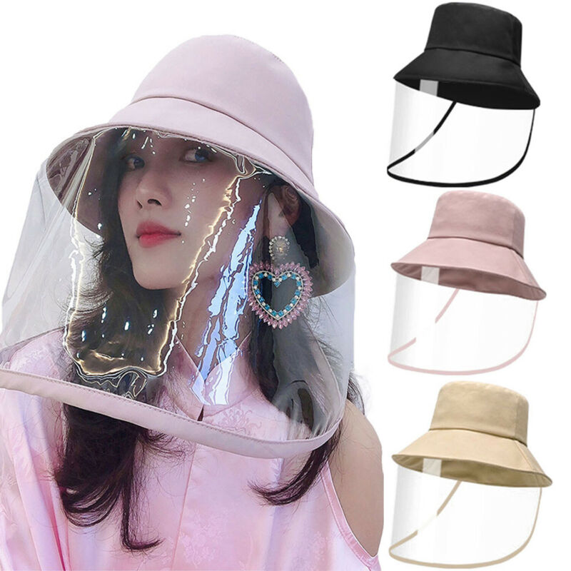 2020 In Stock Now Women Men Dustproof Anti-spitting Protective Hat Cap Cover Outdoor Anti-Virus Hat Solid