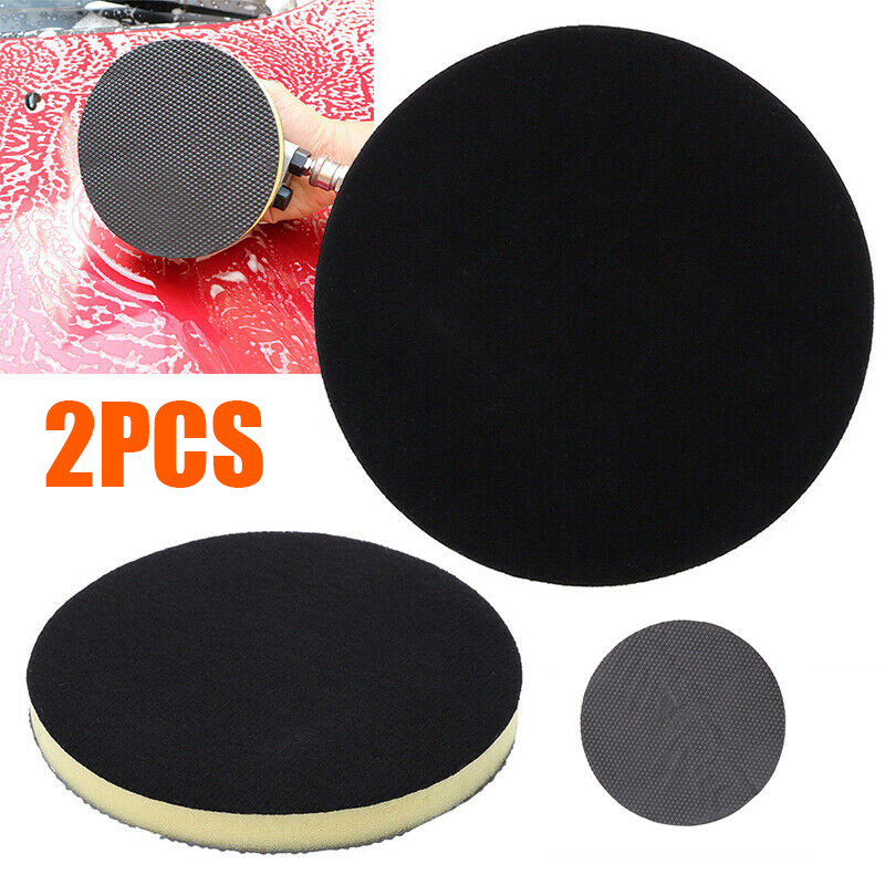 auto accessories 2Pcs Car Cleaning Sponge Pad Clay Polishing Waxing Washing Bar Mud Discs high quality Tools