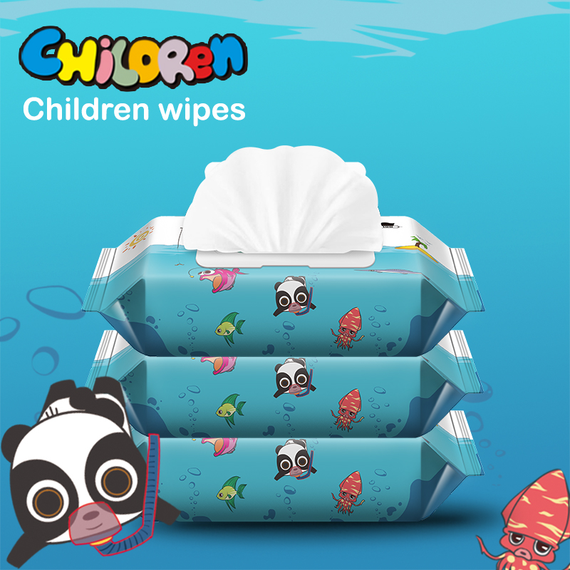3 Boxes Wet Wipes Non-alcoholic Lasting Moisturizing High Quality Non-Woven Cotton Mild Cleaning Care Skin Tissue Towelettes