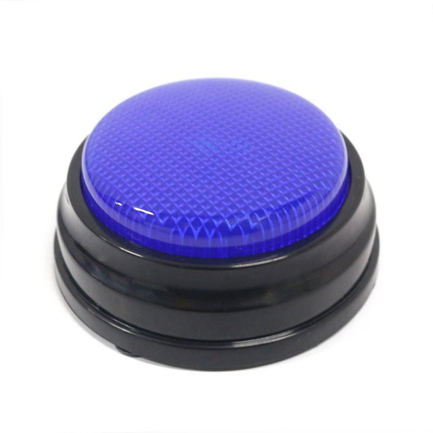 20s Voice Recordable Talking Button Sound Button Answer Buzzer With Led M16