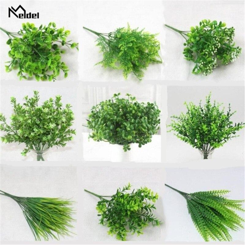 YO-CHO-Plante-Artificielle-7-Forks-Imitation-Plastic-Ferns-Grass-Green-Leaves-Fake-Plants-for-Home.jpg_640x640_副本