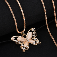 2019 New Fashion Rose Golden Butterfly Chokers Necklaces Cat