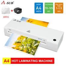 Laminator A4, maszyna do laminowania dokumentów, zdjęć, Laminator rolowy do użytku biurowego