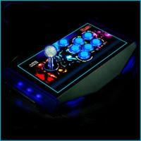 Cdragon arcade joystick Gamepad Console Controller Fighting Stick Arcade Joystick No Delay Video LED USB