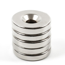 Small Countersunk Round Neodymium Magnet Powerful Strong Rare Earth Permanent NdFeB Magnets for DIY