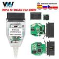 Автомобильный диагностический инструмент для BMW INPA K + DCAN переключатель с FTDI 9241A OBD OBD2 K DCAN для BMW ICOM кабель K-line USB интерфейс
