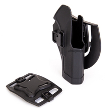 Tactical Belt Gun Holster for GLOCK 17 19 22 23 31 32 with Mag Pouch Shooting Hunting Holsters Army Paintball Pistol