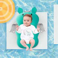Безопасная подушка для ванны для новорожденного ребенка, портативная подушка для безопасности, детская кровать, коврик для ванной, несколь...