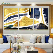 Nordic Unique Imagen Gold Leaves Green Plant Modern Poster And Print Abstract Simple Wall Art For Living Room Aisle Home Décor