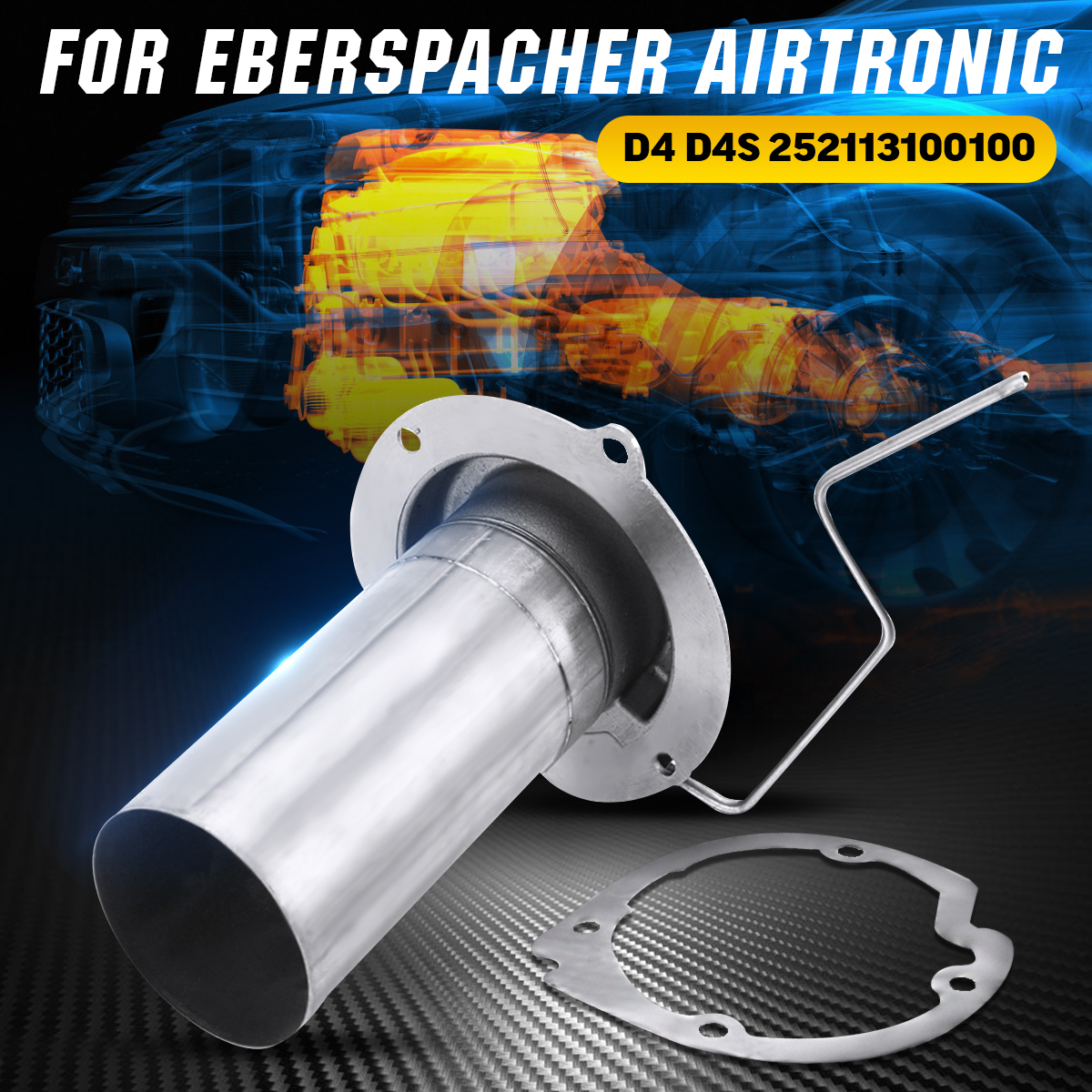 Parking Heater Burner Insert Torches Combustion Chamber Combustor Burner Gaskets 252113100100 For Eberspacher Airtronic D4 D4S