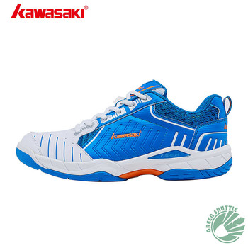 New 2020 Genuine Kawasaki Badminton Shoes K-162 White Men and Women  Breathable Hard-Wearing Sneakers
