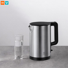 Original Xiaomi Mijia Yunmi Electric Kettle Heating pot Teapot Fast Boiling 304 Stainless Steel 1.5L Large Capacity 1.8kW