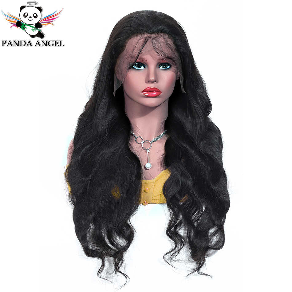 Panda 13*4 Lace Front Human Hair Wigs Pre Plucked 13*6 Brazilian 150% Density Body Wave Lace Front Wigs For Black Women Remy