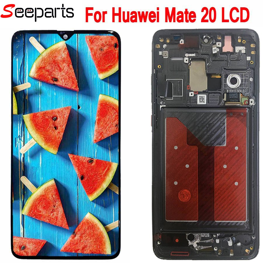 New For Huawei Mate 20 LCD Display Touch Screen Digitizer Assembly Replacement Parts For Huawei Mate 20 Display Screen