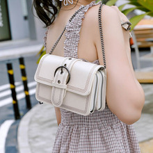Fashion Small Square Bag Women Luxury Designer Handbag 2019 High Quality Leather Chain Mobile Phone Shoulder Bags Messenger Bag недорого