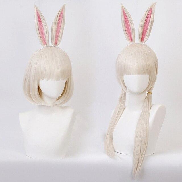 Anime BEASTARS Haru Perücke Kaninchen Cosplay Kostüm Synthetische Haar Party Cosplay Perücken