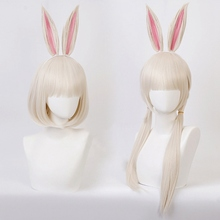 Anime BEASTARS Haru Wig Rabbit Cosplay Costume Synthetic Hair Party Cosplay Wigs