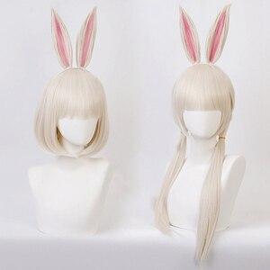 Image 1 - Anime BEASTARS Haru Wig Rabbit Cosplay Costume Synthetic Hair Party Cosplay Wigs