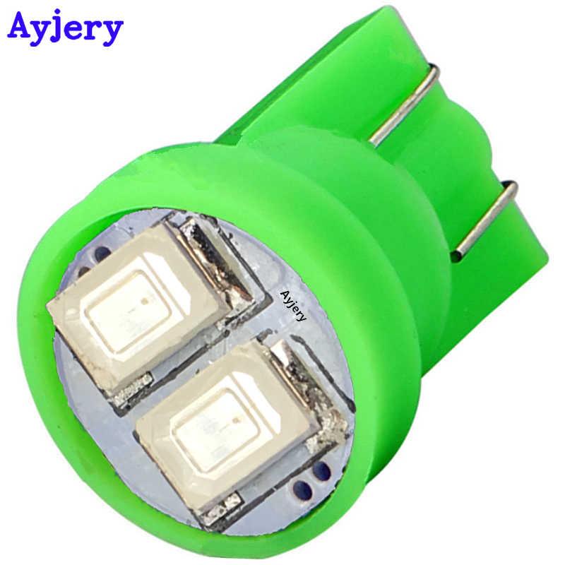 AYJERY 2 قطعة T10 W5W 5630 2 SMD 194 168 2 Led السيارات أداة مصابيح سيارة لوحة ترخيص مصابيح الداخلية الباب ضوء لمبة سيارة التصميم