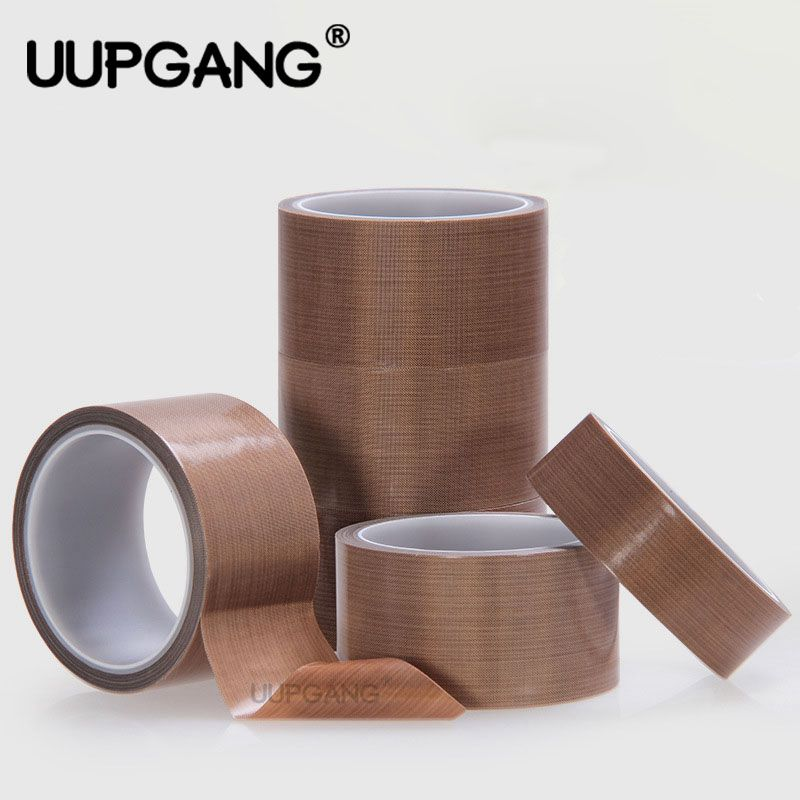 10m High Temperature Resistant Adhesive Tape For Teflon Tape Replace Insulation Vacuum Cleane Sealing Machine PTFE Cloth Tape