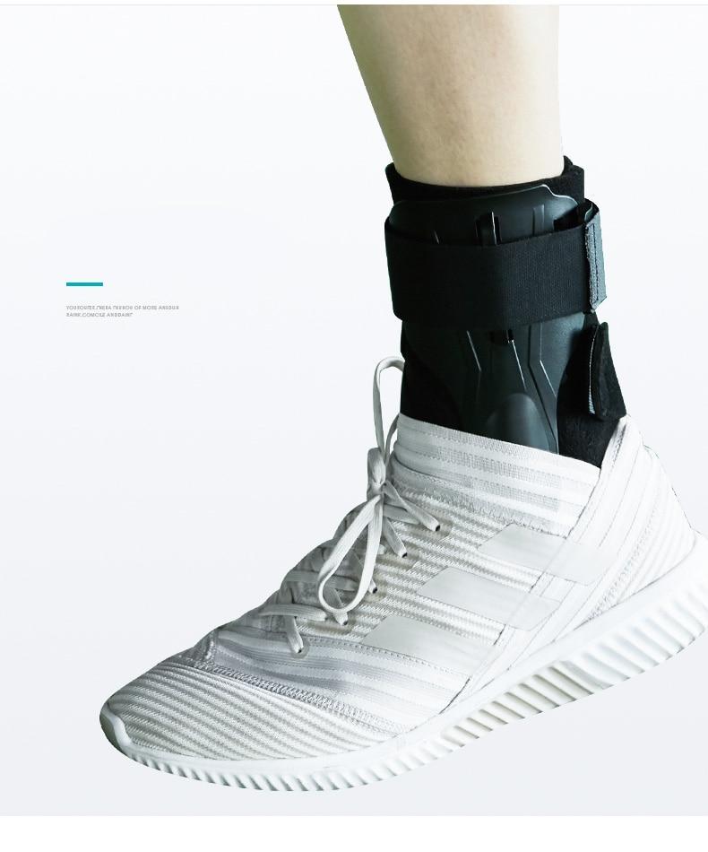 estabilizador de tornozelo usando com tênis