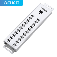 AOKO usb hub 2.0 22 port Each interface output current 5V1.5A