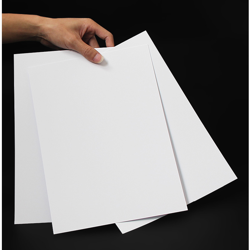 A4 Painting  White Cardboard Thick Cardboard Double-sided Manual Cardboard Hard CardboardDrawing Print Business Card Paper 230g