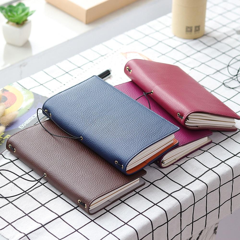 novo litchi grao de couro viajante notebook 01