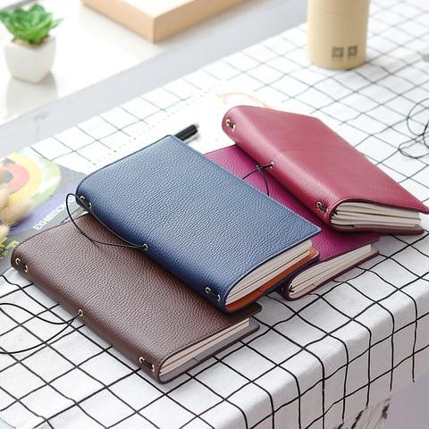 novo litchi grao de couro viajante notebook