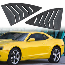 Chuang Qian козырек для боковых окон, козырек из АБС-пластика, солнцезащитный козырек для 2010-2015 Chevrolet Camaro LS LT RS SS