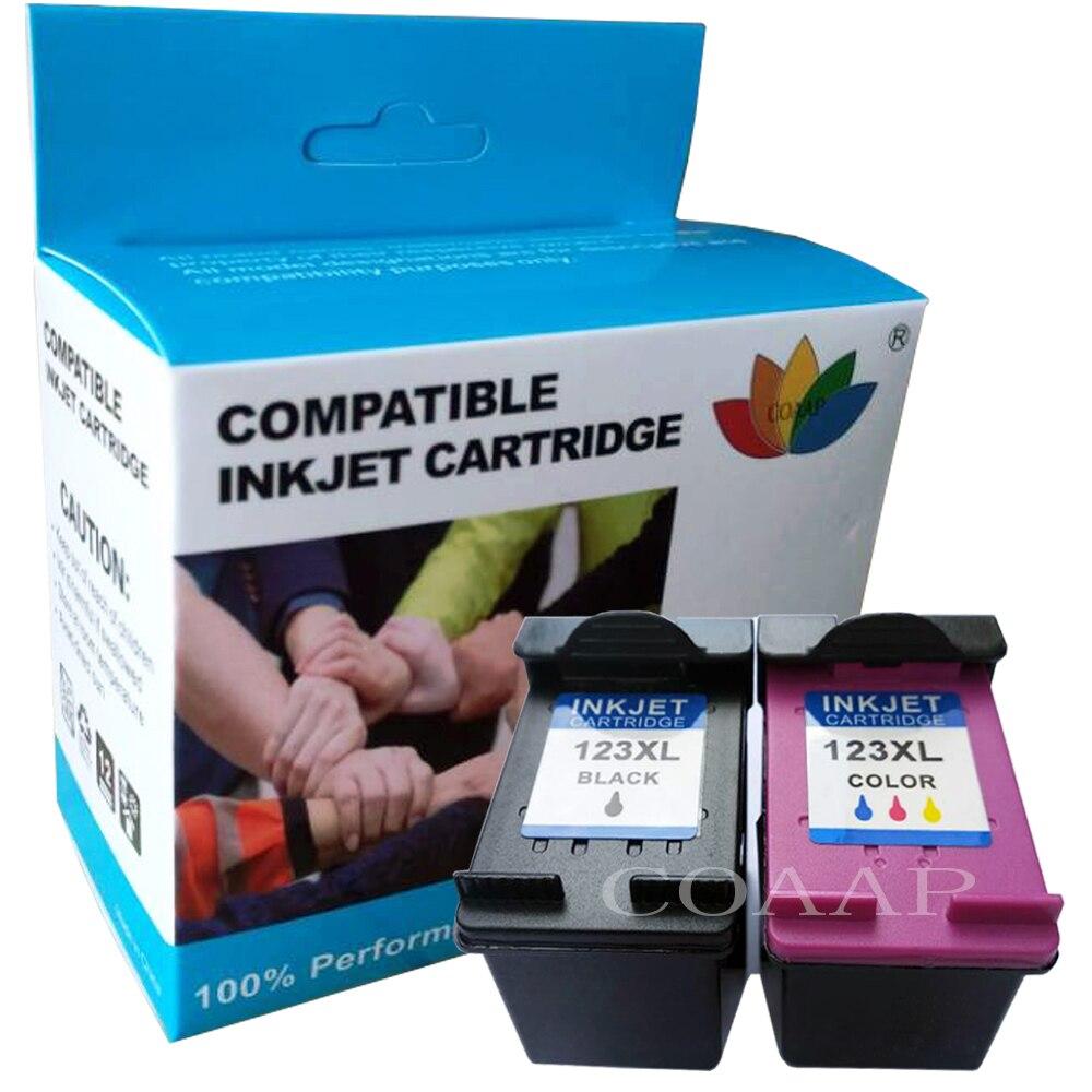 Сменный картридж COAAP для принтера HP 123 123XL Deskjet 1110 1111 1112 2130 2132 2133 2134 3630 3632 3637 3638