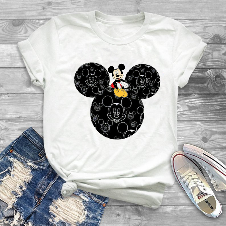TJCJFO Summer Fashion Hot Sales Print Women Tshirt Mickey Cartoon Casual Funny T Shirt Lady Hot Selling