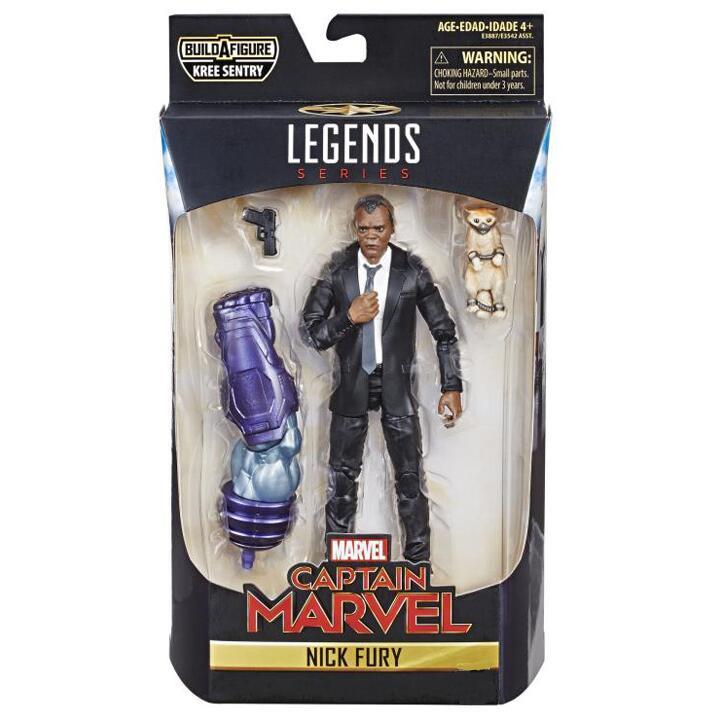 Avengers Marvel Legends Nick Fury Nicholas Joseph Fury Captain Marvel 1/12 Scale GK Action Figure Toy BOX