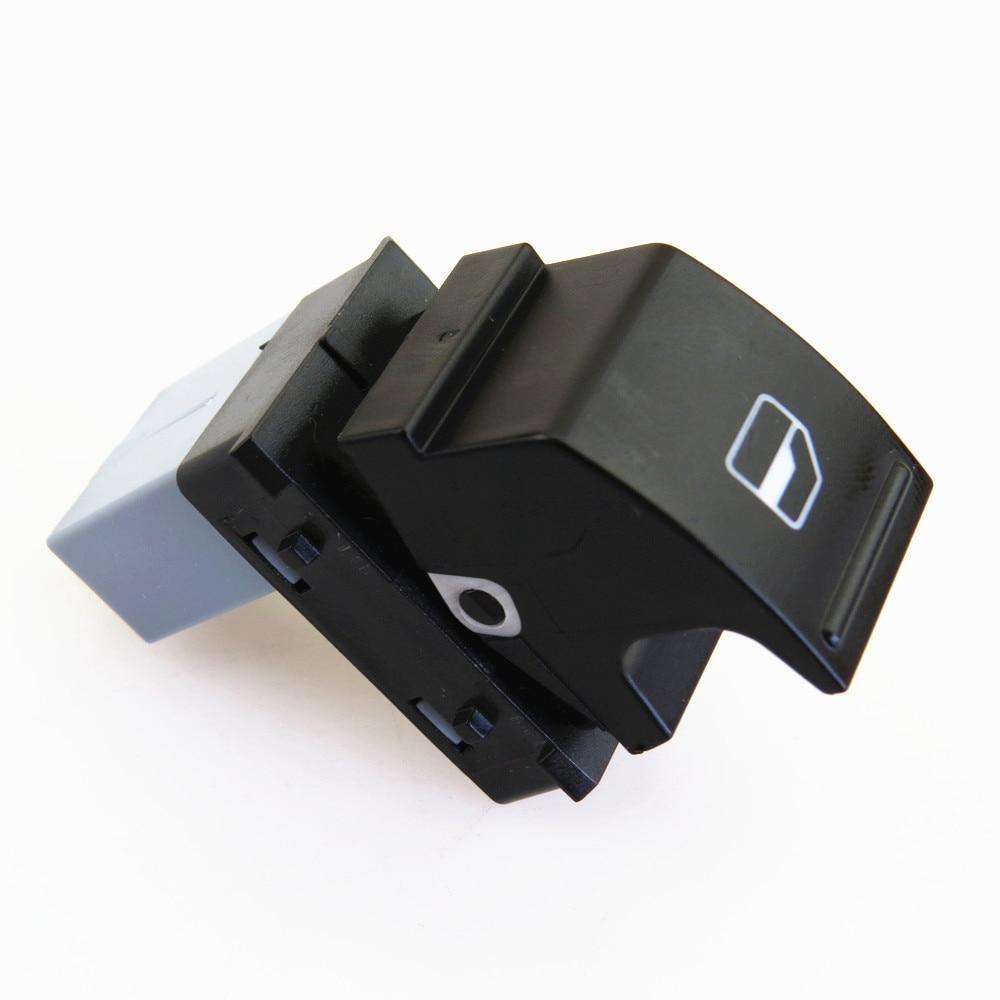 RWSYPL пассажирская электрическая кнопка переключатель стекла 7L6 959 855 B 7L6959855 для VW ЭОС Гольф плюс Джетта MK5 MK6 Tiguan CC Touran Amarok