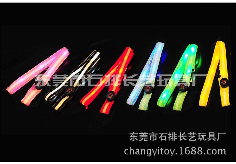 LED Shining Flash Night Light Pet Shiny Dog Collar Small, Medium And Large Quan Xiang Quan