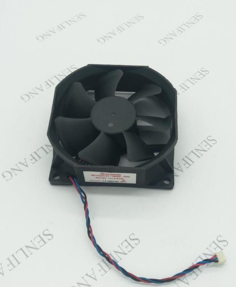 Free Shipping Original MF75251V1-Q000-G99 7525 12V 2.91W Three Line Projector Fan