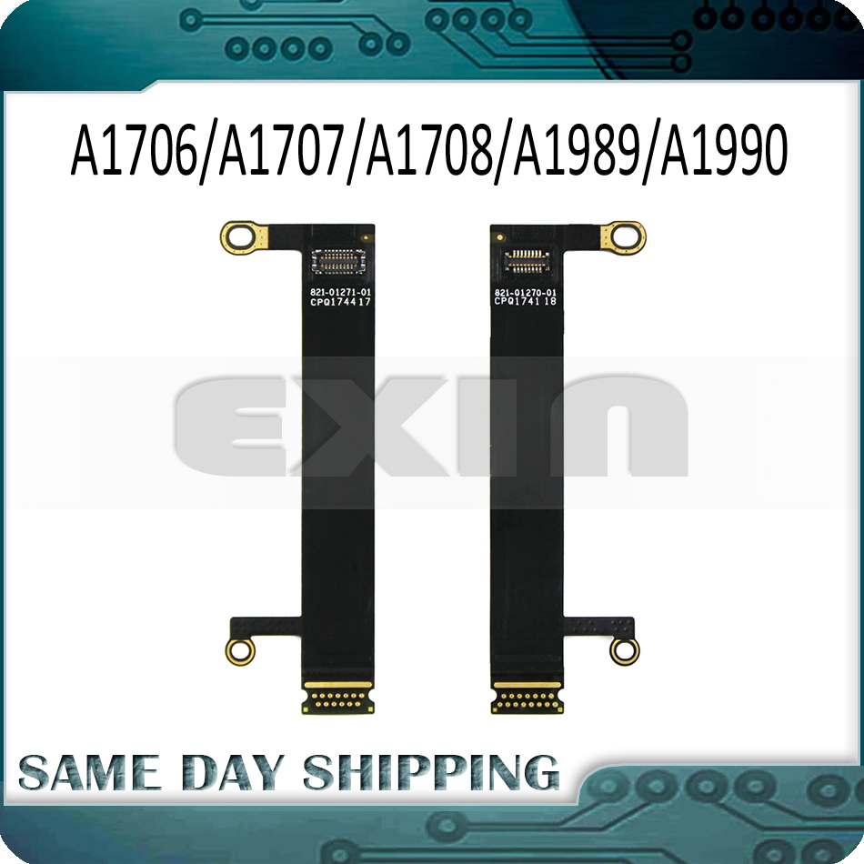 Compatible for Macbook Pro 13 15 A1706 A1707 2016 2017 LCD Display Flex Cable Connector