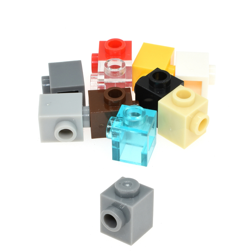 20pcs/50pcs Building Blocks Parts Bulk Bricks Moc Diy Toys Assembles Particles 1x1 Educational High-Tech Spare Toys