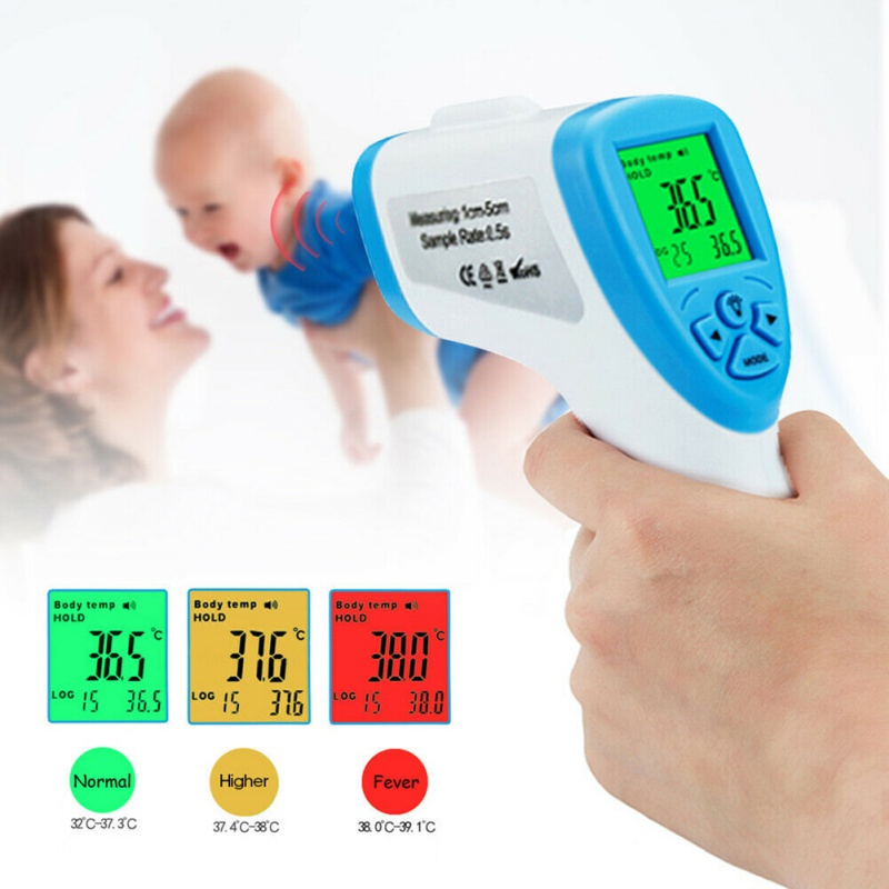 Muti-fuction Baby/Adult Digital Termomete Infrared Forehead Body Thermometer Gun Non-contact Temperature Measurement Device 20