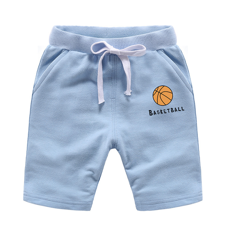 VIDMID Baby Shorts Cotton Pure Color Boy Shorts Summer New Children's Boys And Girls Beach Trousers Kids Girl Shorts 7060