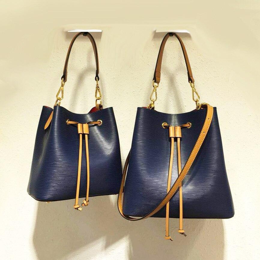 Высококачественные роскошные брендовые дизайнерские женские сумки через плечо из воловьей кожи, сумка-мешок через плечо