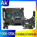 NM-B151 Laptop motherboard For Lenovo Y900-17ISK original mainboard I7-6700HQ GTX1070-8GB