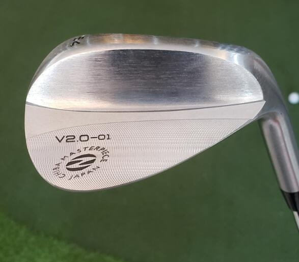 Zodia Spider V2.0-01 Wedges Silver Zodia Golf Forged Wedges Golf Clubs 50/52/56/58 Degrees No Shaft