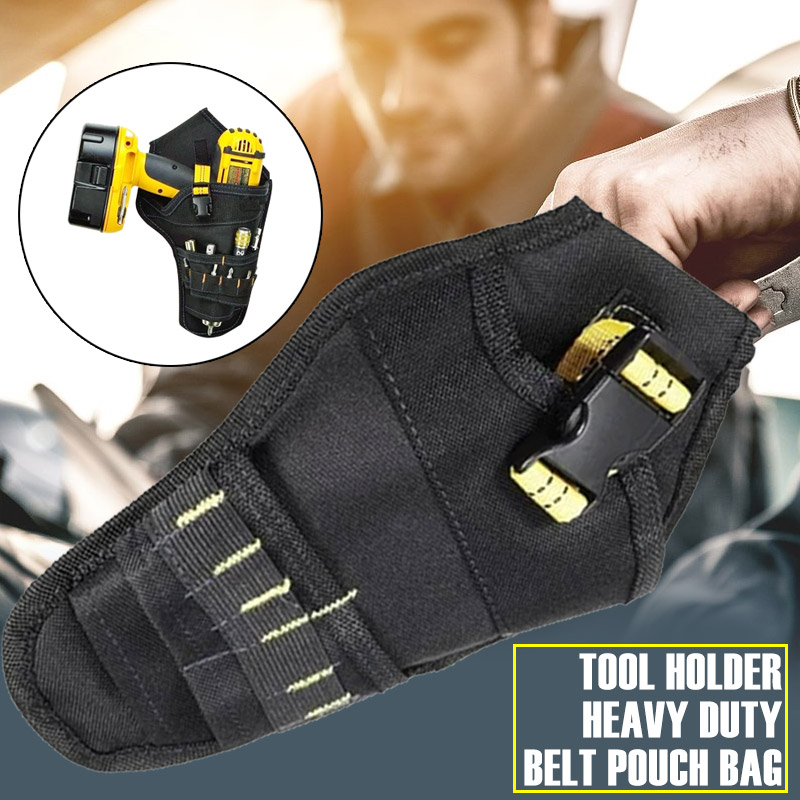 Oxford Cloth Drill Holster Portable Cordless Tool Holder Pendant Bag Tools Packing Durable Tool Belt Pouch Waterproof